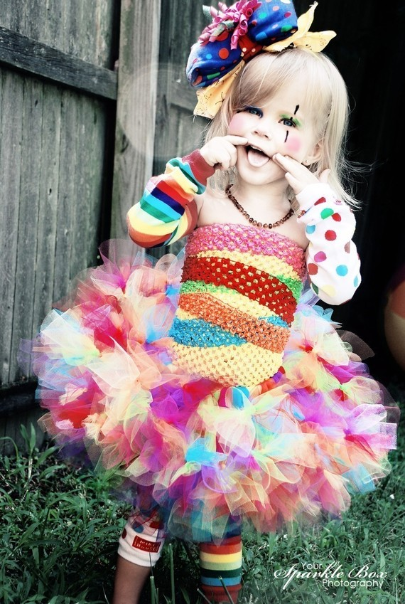 Clownin' Around Tutu Costume