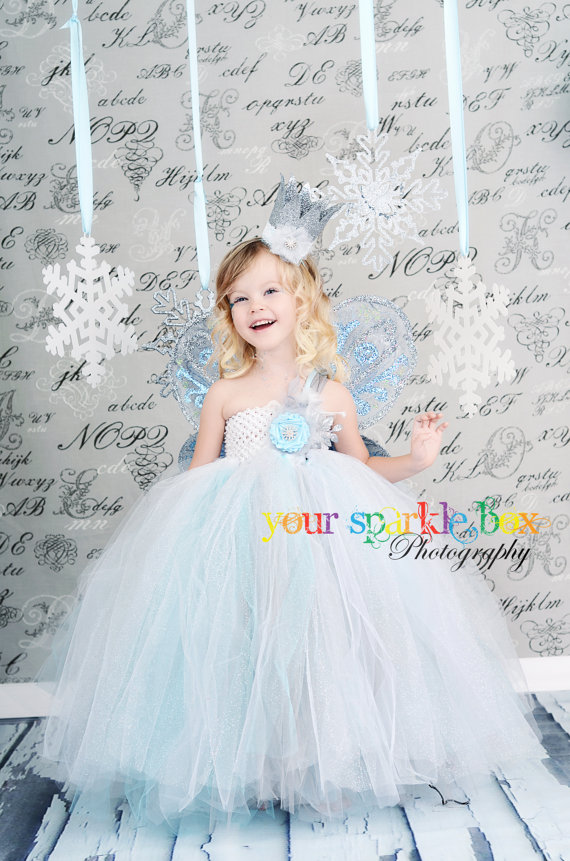 Snowflake Princess Tutu Dress