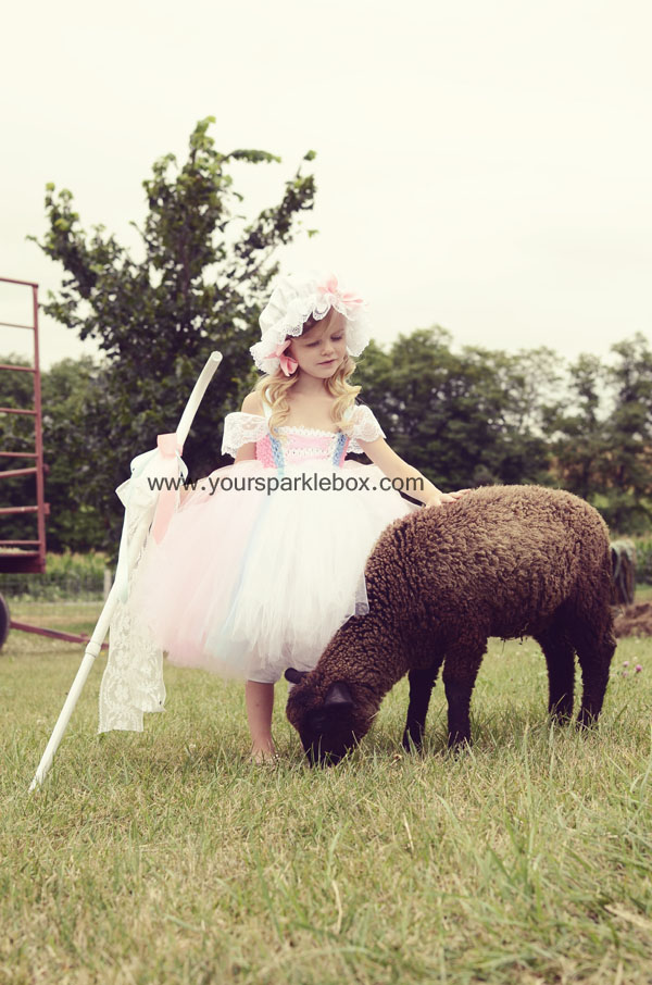 Little Bo Peep Tutu Dress