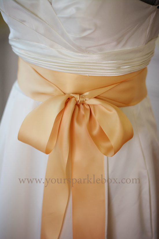 Gold Bridal Sash