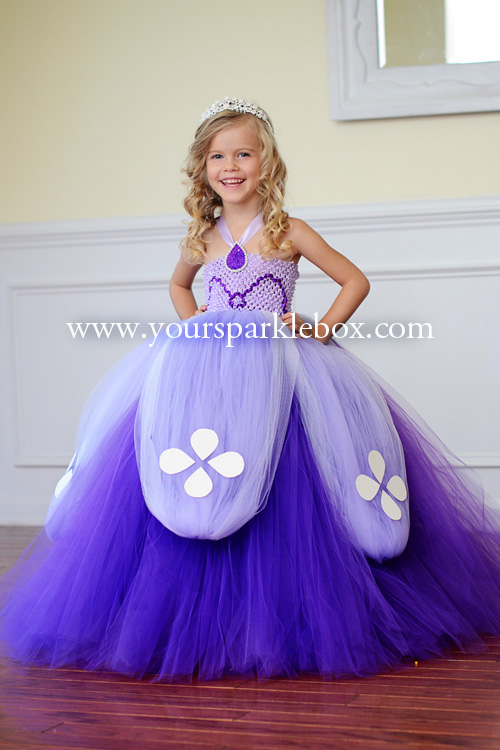 Sofia the FirstTutu Dress  sc 1 st  Your Sparkle Box Tutu Dress Design : princess sofia costume for adults  - Germanpascual.Com